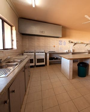 Radeka Down Under Coober Pedy Underground Accommodation Communal Kitchen Facilities
