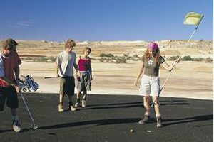 Coober Pedy Tours - Golf Course